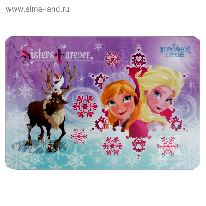 Накладка на стол дизайн 485*335 Disney Frozen 4254597   3376350