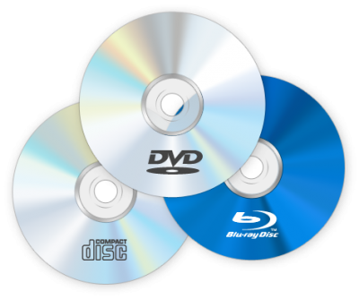 Диски CD, DVD, BD (Blu-ray)